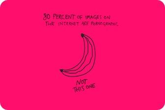 80% de imagens na internet são pornografia. Não esta aqui.