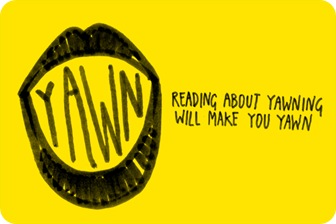 Ler sobre bocechos irá te fazer bocejar