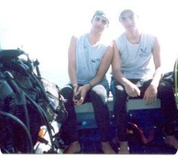 Eu e Daniel, 2003/Ilha Grande